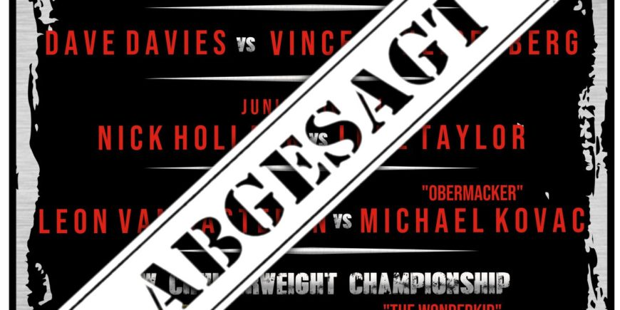 Hamburg Wrestling abgesagt